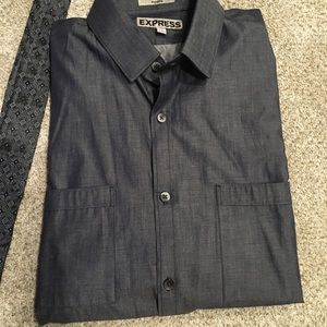 Express Men's Dress Shirt